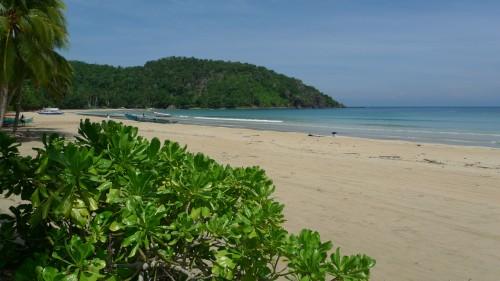 Nagtabon Beach in Puerto Princesa City