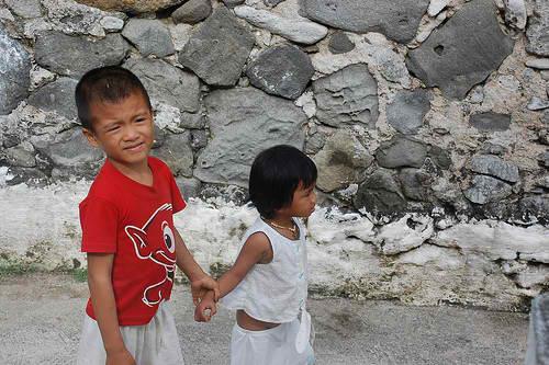Kids in Chavayan Sabtang Island