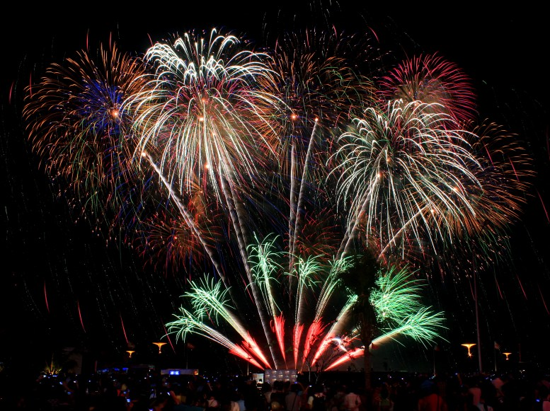Philippine Pyromusical Competition UK vs Portugal