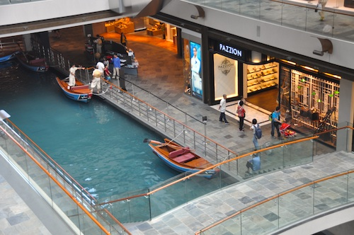 Shopping in Marina Bay Sands