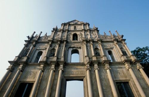 Facade of St Paul's Church