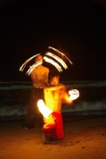 Fire Dancers in San Juan