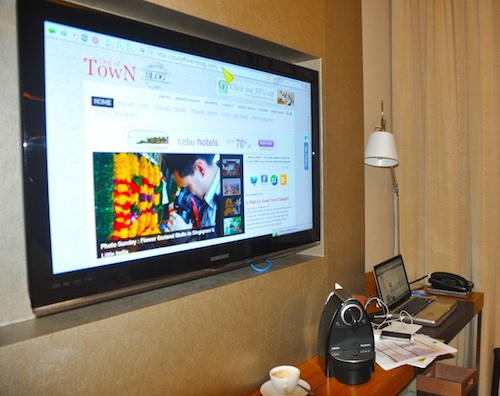 Internet powered Samsung Flat TV