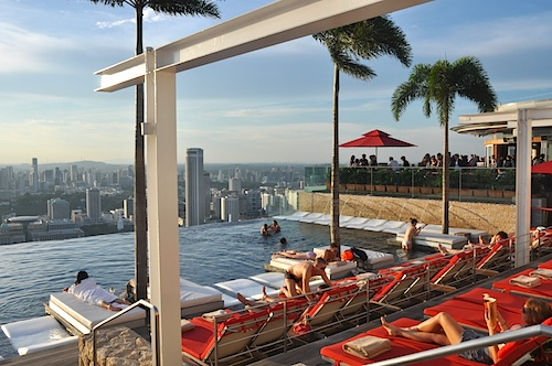 Infinity Pool at the Skypark
