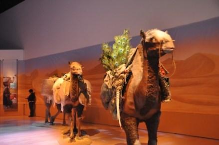 Silk Road Exhibition Entrance