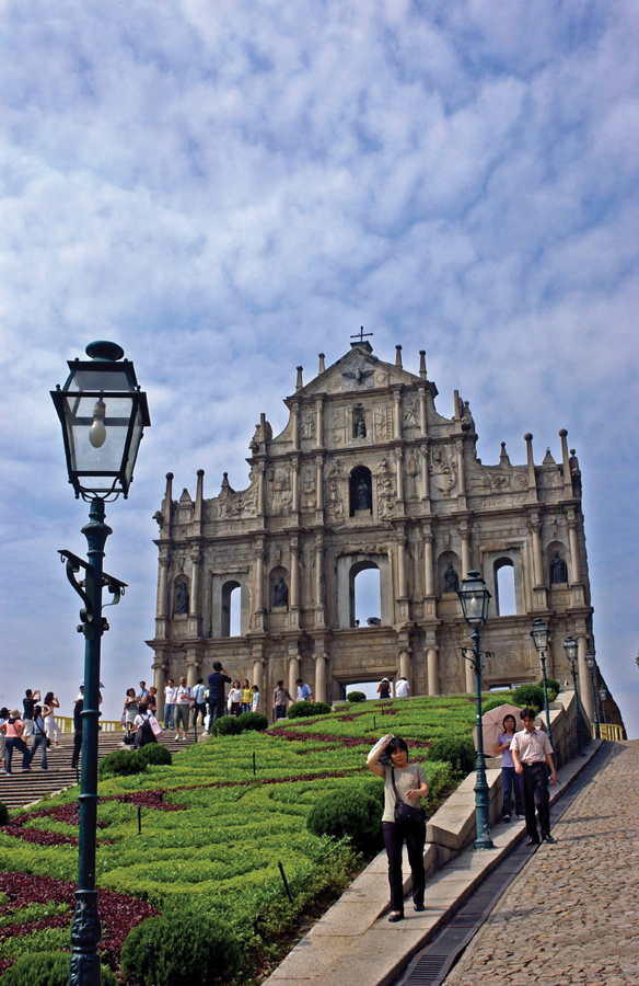 The Ruins of St Paul's Church at the Historic Centre of Macau
