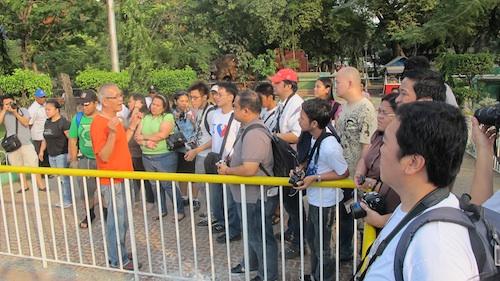Bloggers Tour in Luneta Park