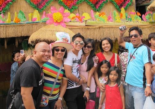 Pahiyas with Cousins