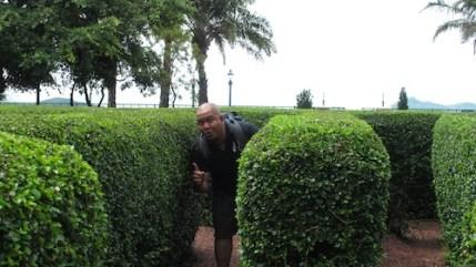Melo at The Maze
