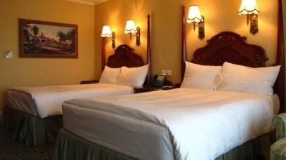Our Room at the Hong Kong Disneyland Hotel