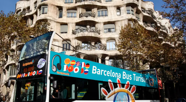 Barcelona City Sightseeing Bus Pass