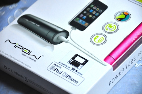 MiPow Power Tube Mobile Charger