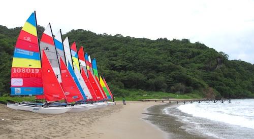 Colorful Sail Boats