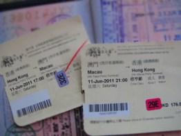 Hong Kong - Macau Ferry Tickets