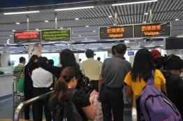 Macau Immigration in Hong Kong