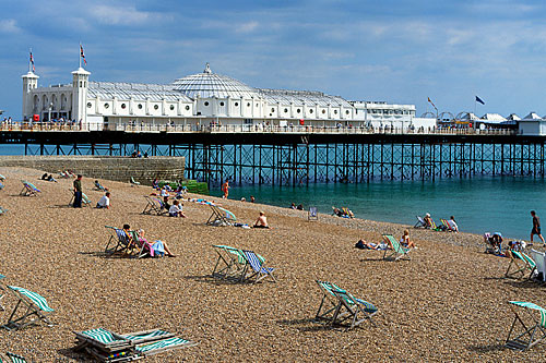 Beach in Brighton