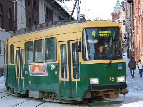 Helsinki tram photos