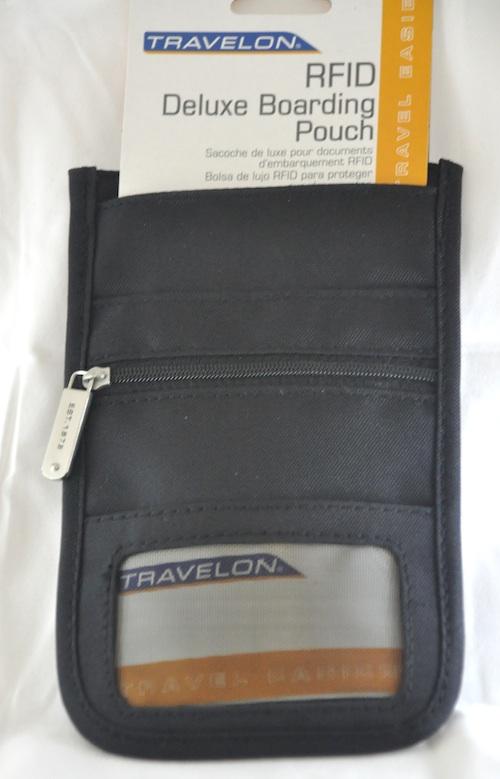 Multi-purpose travel pouch