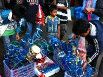 Plastic Horns for Sale at Session Road