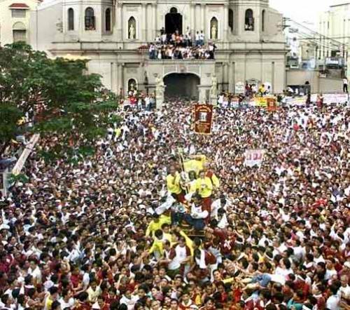 Black Nazarene Quiapo Fiesta Procession Route 2012