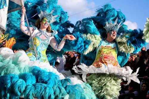 samba dancers photo