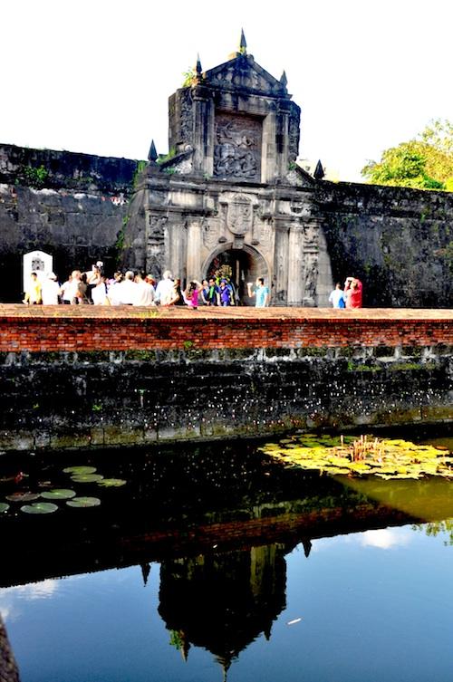 fort santiago after being restored