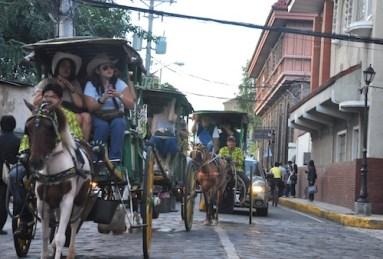 Tourists in Intramuros
