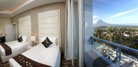 Oriental Legaspi Hotel room with view