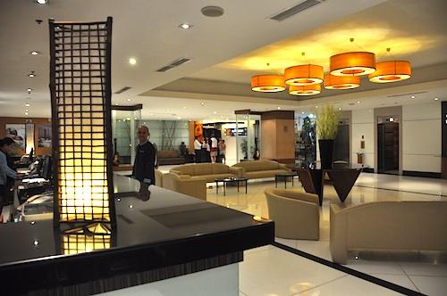 hotel lobby in cebu
