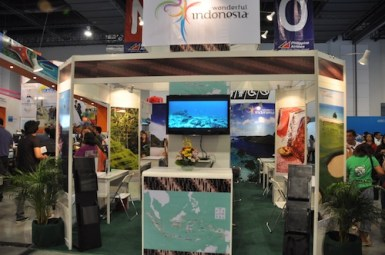 Wonderful Indonesia Booth