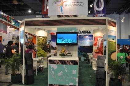 Wonderful Indonesia Booth