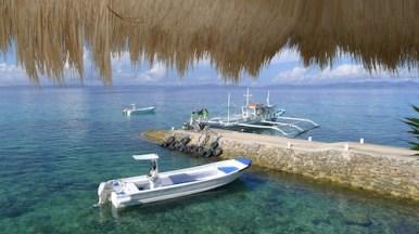 Apulit Island Arrival Area