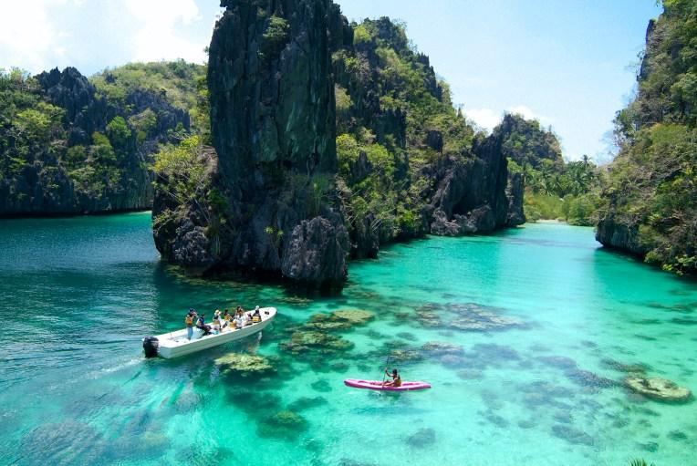 El Nido Resorts Activities - Kayaking at the Big Lagoon
