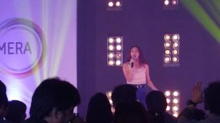 Iya Villania hosting the event