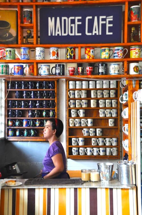 madge cafe in la paz