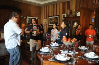 Our Tour Guide inside Balay na Bato