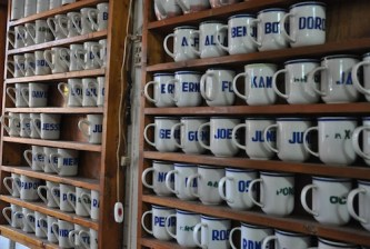 Personalized Coffee Mugs at Madge Cafe
