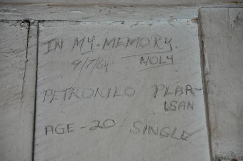 Vandalism Circa 1964