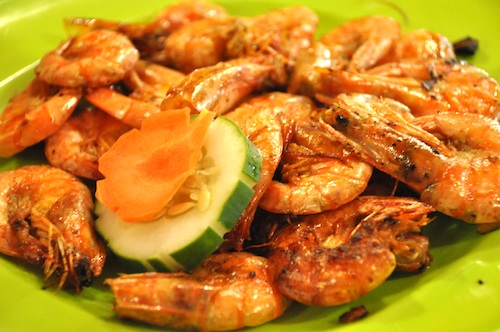 Fried Shrimps in Garlic and Butter