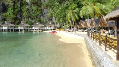Miniloc Island Beach Front