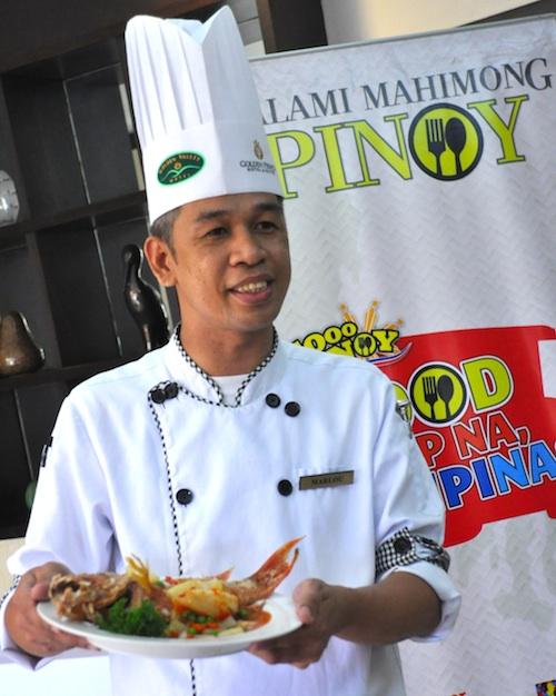 Sous Chef Marlou Almasco
