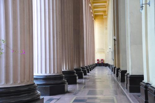 Huge Ionic Columns