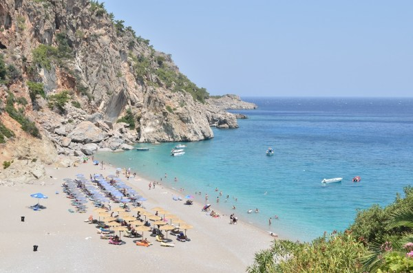 Beach in Marmaris Turkey