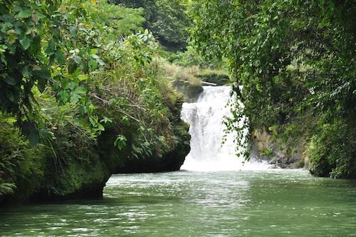 Busay Falls along Loboc River
