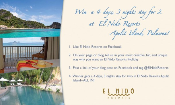 El Nido Resorts Bloggers Contest