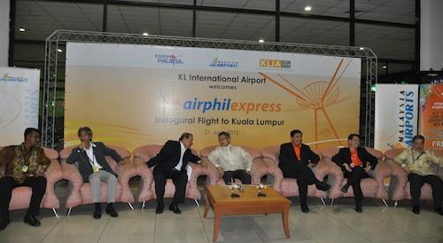 Inaugural Flight to Kuala Lumpur Press Conference