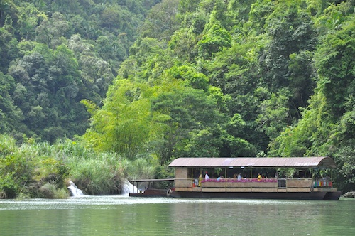 river cruise bohol