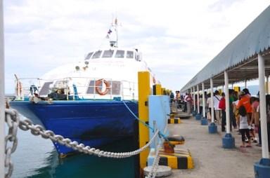 Ocean Jet Ferry in Tagbilaran Bohol