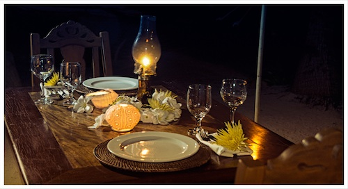 Private Dinner by the Beach