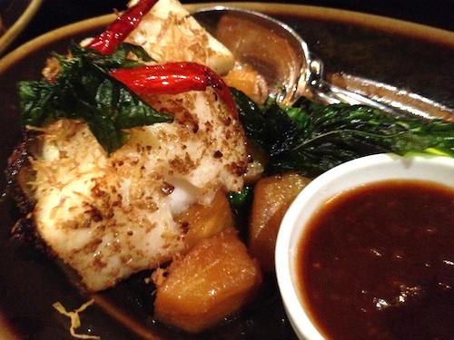 Sea Bass with Tamarind Sauce